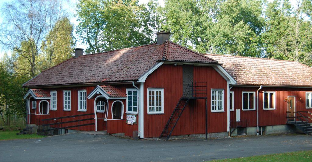 Bygdegården i Månstad