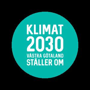 Logga Klimat 2030 Västra Götaland ställer om