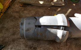 betongrör i marken