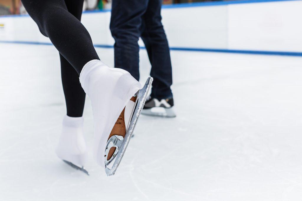 Skridskor på is