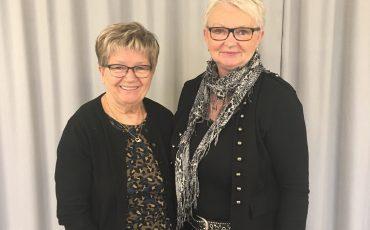 Lena Eksberg (S) och Rose Torkelsson (S)