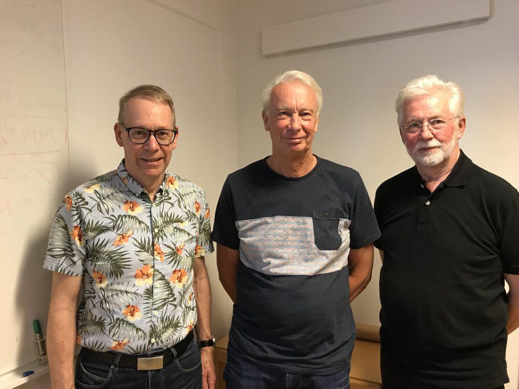 Lars-Gunnar Karlsson, Anders Brolin och Stephan Bergman