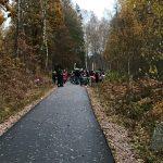Invigning av gång- och cykelväg Uddebo och Strömsfors