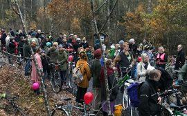 Invigning cykelväg Uddebo och Strömsfors