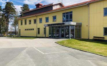 skolbyggnad i Dalstorp