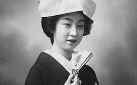 En japansk brud.