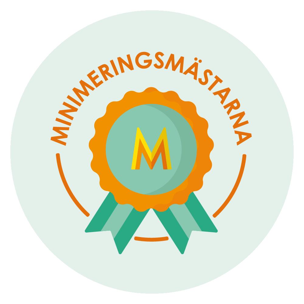 Logga för Minimeringsmästarna