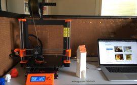 Vår 3D-skrivare Prusa i MK3