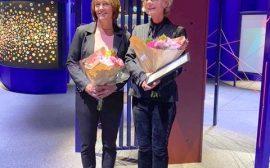 Jeanette Lindström och Elisabeth Erikson