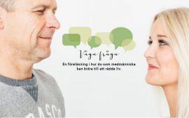 Man och kvinna möter varandras blickar