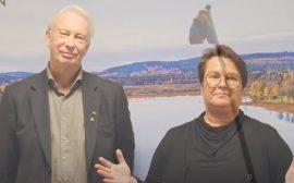 Anders Brolin och Carita Brovall